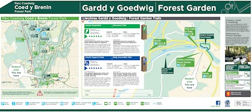 Forest Garden Discovery Trail map